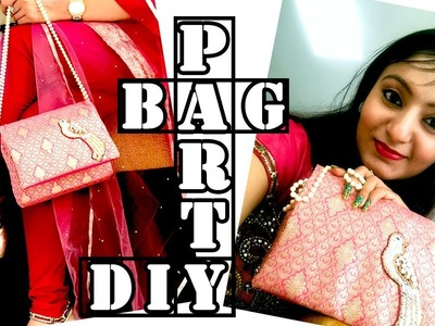 DIY Designer Party Clutch Bag   How to make clutch with a string at home