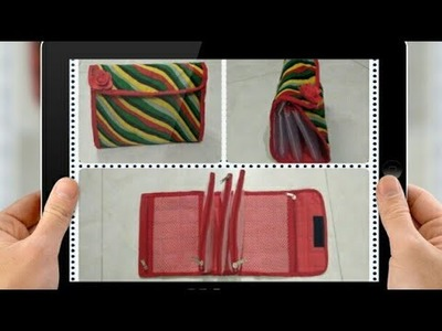 DIY : Organizer Pouch Bag Tutorial By Anamika Mishra. .