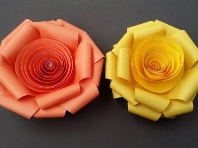 DIY: Paper Rose!!! How to Make Easy Paper  Rose!!!