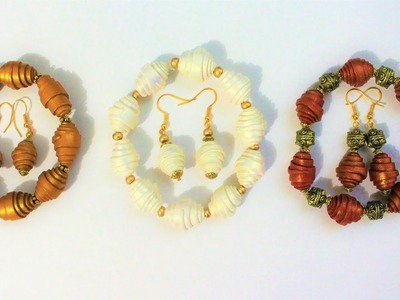 DIY Polymer Clay Beads Tutorial | Bracelet and Earrings Set