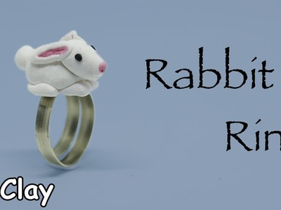 Diy Rabbit Ring - Polymer clay tutorial