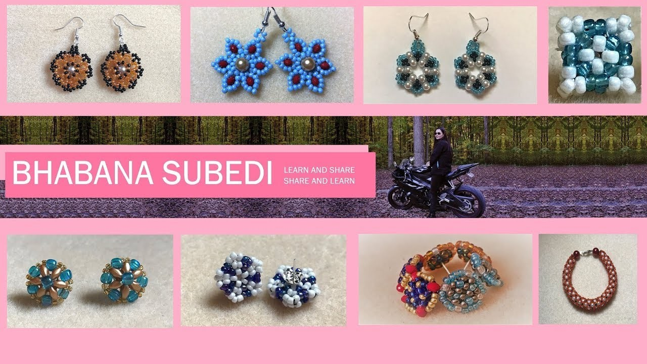 DIY with Bhabana Subedi | Beads Tutorials | Simple and Easy |