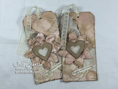 Falling In Love Vintage and Romantic Tag