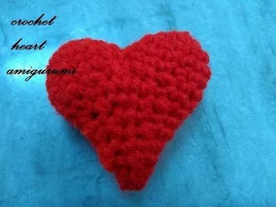 Heart amigurumi | crochet tamil | 3d heart in tamil