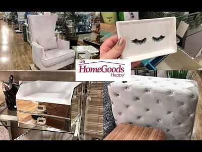 HOME GOODS SHOP WITH ME 2018| GLAM HOME DECOR IDEAS