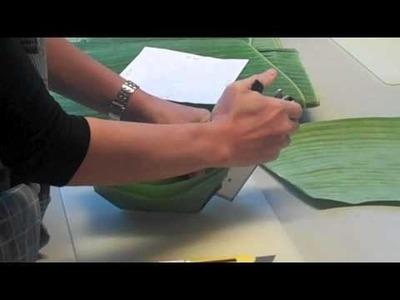 Hormok 1.4 - Making a Banana leaf cup