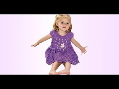 HOW TO CROCHET A DRESS FOR A GIRL - EASY AND FAST - BY LAURA CEPEDA