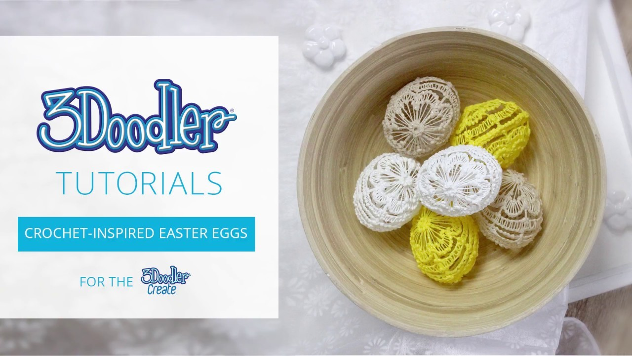 How to Doodle: Crochet-Inspired Easter Eggs
