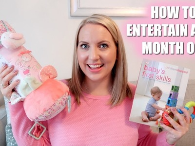 HOW TO ENTERTAIN A BABY | 0-6 MONTH OLD | Sarah-Jayne Fragola