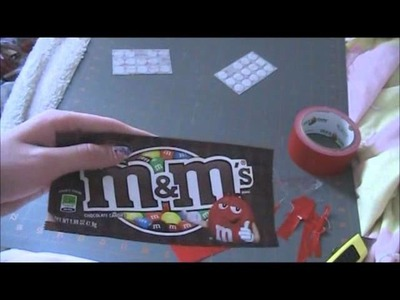 How to make a Duct Tape.Candy Wrapper Coin Pouch