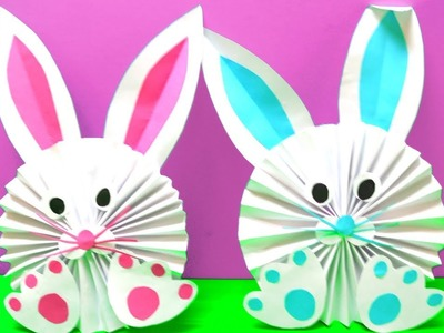 How to Make a Paper Bunny  Easy Easter Crafts Ideas  EMMA DIY #63
