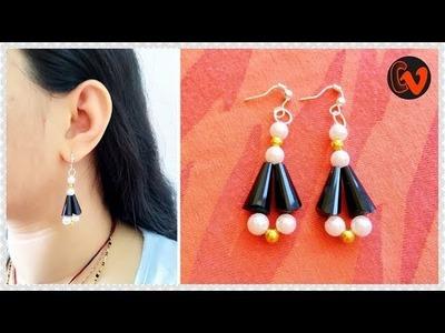 How to Make Beaded Earrings. DIY. Beginners. Design 10