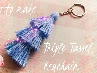 How to make the Triple Tassel