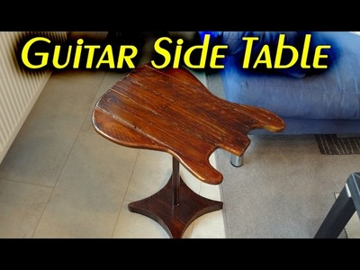 Making a Guitar Side Table. How To