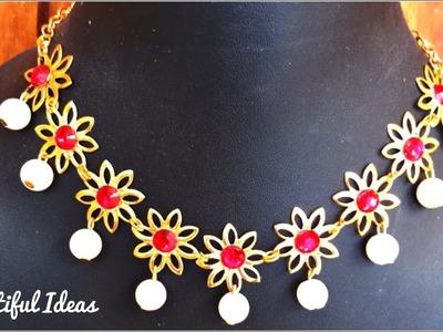 Pearl Designer Necklace & Choker.Beautiful Ideas.Diy.Latest Jewellery