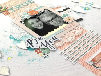 "PinkFresh ""Let Your Heart Decide"" 12x12 Scrapbooking Process Video"