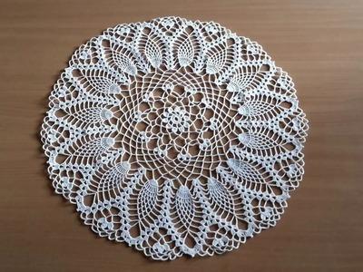 Round Crochet Doily #1 - Part 2.2