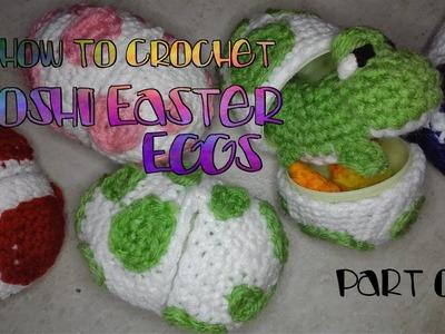 Spotted Crochet Easter Eggs Tutorial Part 1