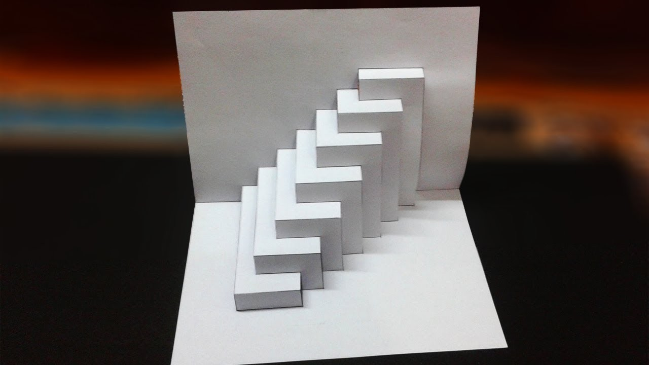 Super Easy Way To Make Kirigami Pop Up card    kirigami ...