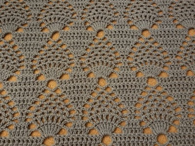 The Pineapple Throw Crochet Tutorial!
