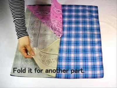 [Z's file 2-eng] Making of an Eco-Bag 2 (out of Bandanas)