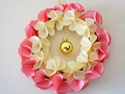 Awesome Paper Flower Wall Decor Festooning - Wall Art Collections ...