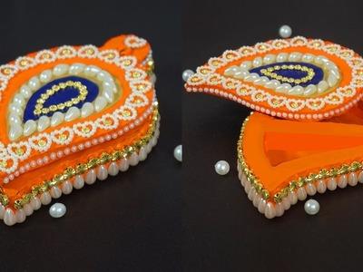 Best Out of Waste | DIY KUMKUM BOX | Diy Kumkum Holder | Sindur Tikka Box