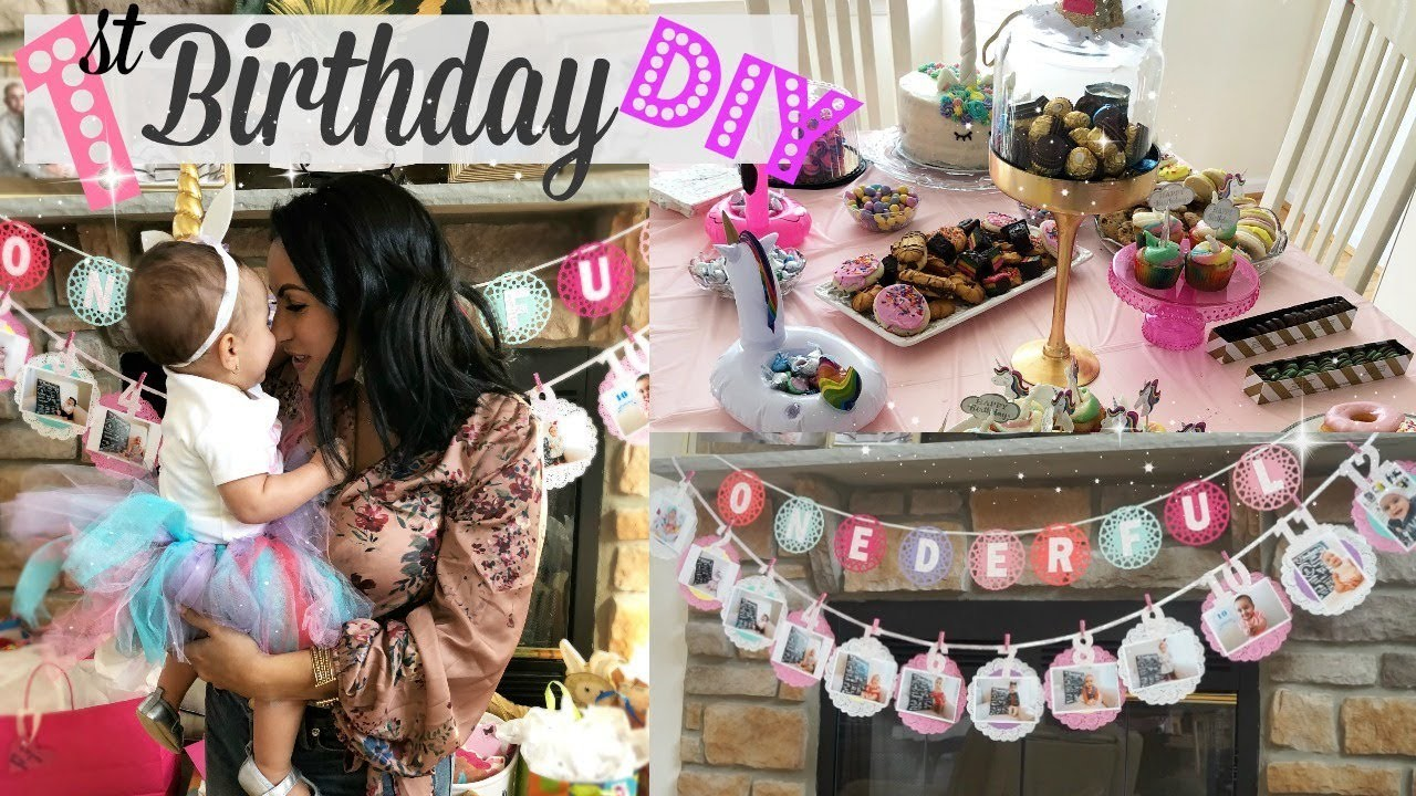 DIY BIRTHDAY PARTY DECORATIONS 1ST FOR GIRL HOW TO MAKE A TUTU
