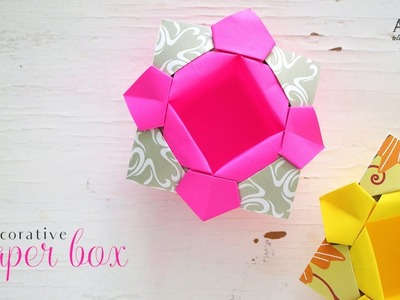 DIY Decorative Paper Box