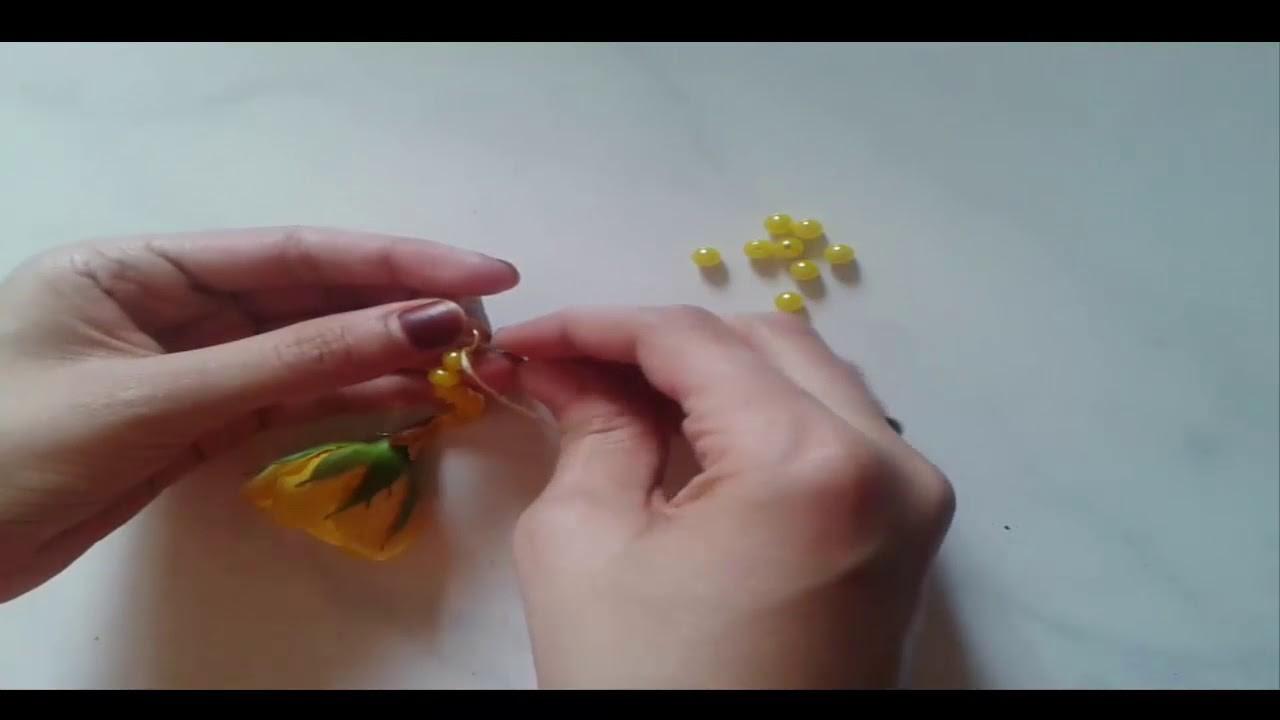 (Diy) How To Make Fresh Flowers Jewelry
