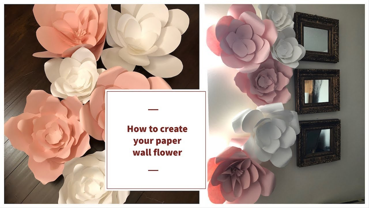 Diy Rose Tutorial How To Make Paper Flower