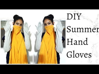 DIY Summer Hand Gloves | How to make summer hand gloves at home