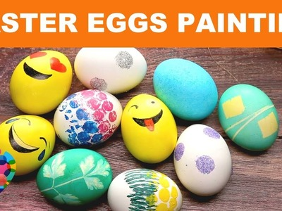How To Decorate Easter Eggs????? DIY Easter Ideas For Painting Eggs! Easter 2018 | A+ hacks