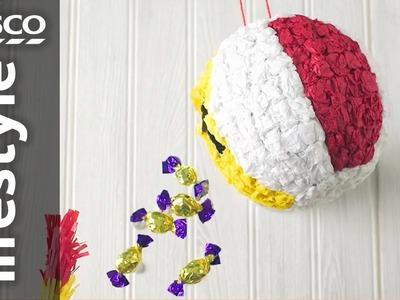 How to make a beach ball piñata | Tesco