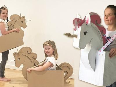 How to make a Cardboard Unicorn Costume