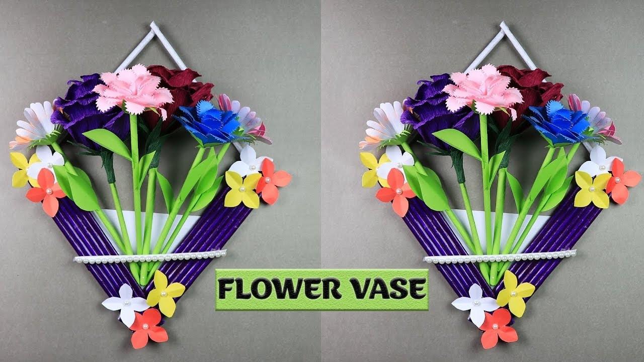Diy paper flower vase akbaeenw diy paper flower vase mightylinksfo
