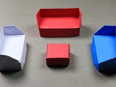 How to make a paper sofa: DIY Paper Crafts (Handmade)