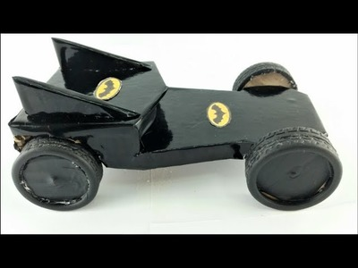 How to Make Amazing Car From Cardboard - Wind Up Car Toy
