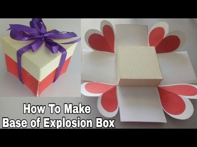 How to Make Base Of Explosion Box(Tutorial )