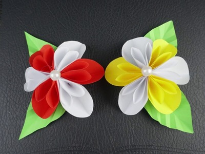 How to make beautiful paper flower - Origami Easy Paper Flower - Diy crafts