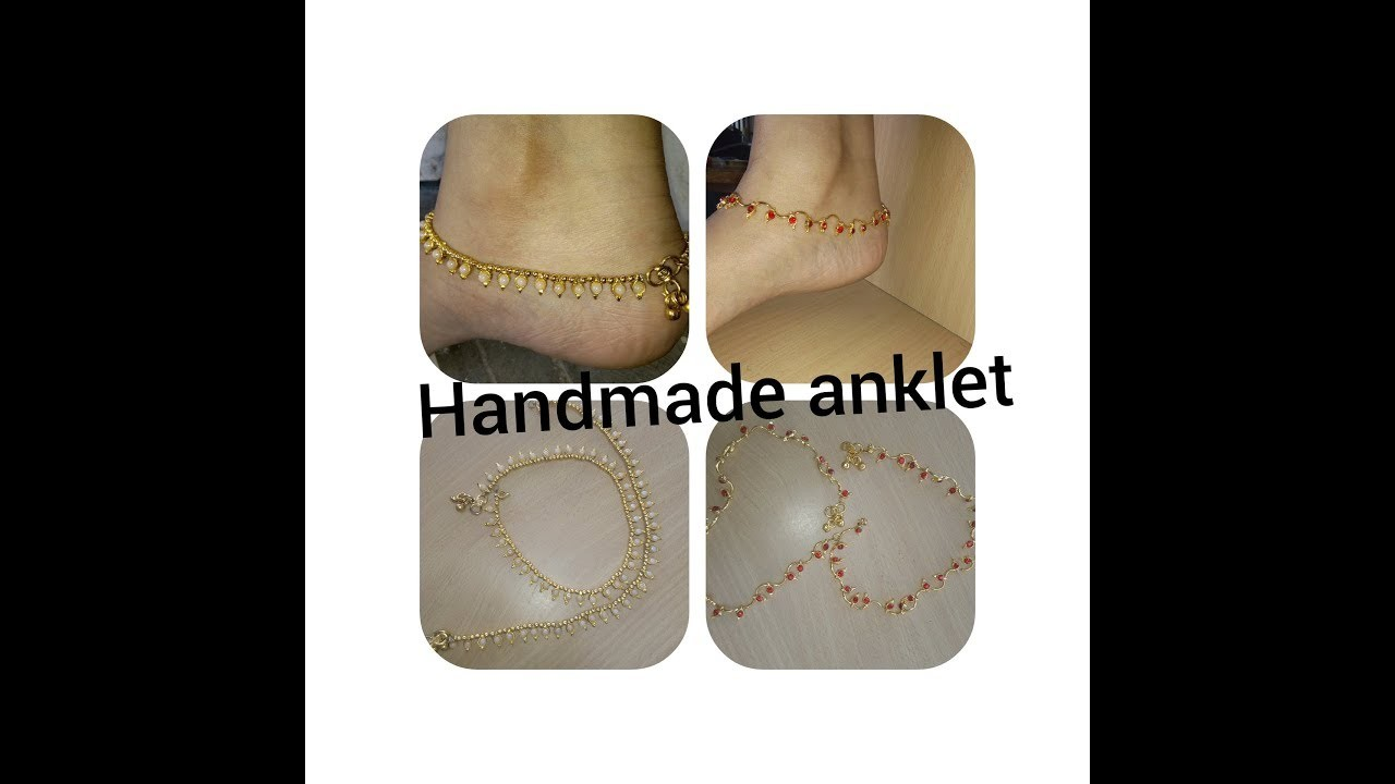 How to make crystal anklets?