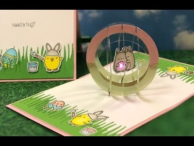 How to make Light Up Pop-up Sphere Card.