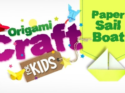 How to make Origami Paper Sail Boat in tamil | Origami Craft for Kids | Easy Paper Craft | DIY Craft
