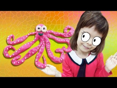 How to Make Play Doh Octopus| DIY