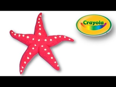 How to make Red Star Fish from Crayola Model Magic Easy