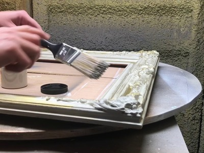 How to paint a French vintage frame