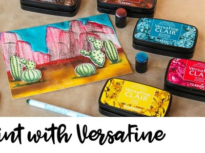 How to Paint with VersaFine Clair