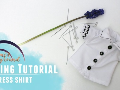 How to sew a collared shirt for Littlefee or YoSD BJDs