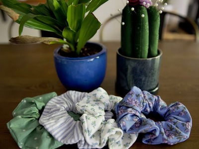 How To Sew: A Scrunchie