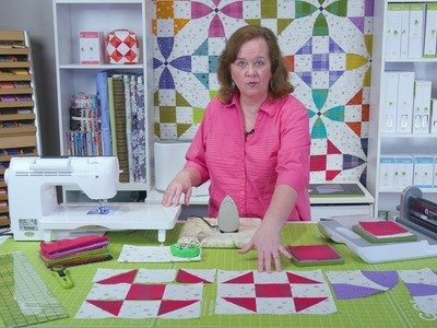 """Learn how to make the GO Qube 8"""" Happy Village Quilt"""